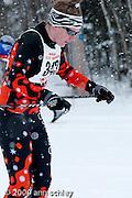 Girls Classic Ski Race at MN State HS Nordic Ski Race.