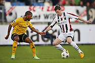 Onderwerp/Subject: Willem II - Roda JC - Eredivisie<br /> Reklame:  <br /> Club/Team/Country: <br /> Seizoen/Season: 2012/2013<br /> FOTO/PHOTO: Marc HOCHER (R) of Willem II in duel with Roly BONEVACIA (L) of Roda JC. (Photo by PICS UNITED)<br /> <br /> Trefwoorden/Keywords: <br /> #04 $94 &plusmn;1355242121502<br /> Photo- &amp; Copyrights &copy; PICS UNITED <br /> P.O. Box 7164 - 5605 BE  EINDHOVEN (THE NETHERLANDS) <br /> Phone +31 (0)40 296 28 00 <br /> Fax +31 (0) 40 248 47 43 <br /> http://www.pics-united.com <br /> e-mail : sales@pics-united.com (If you would like to raise any issues regarding any aspects of products / service of PICS UNITED) or <br /> e-mail : sales@pics-united.com   <br /> <br /> ATTENTIE: <br /> Publicatie ook bij aanbieding door derden is slechts toegestaan na verkregen toestemming van Pics United. <br /> VOLLEDIGE NAAMSVERMELDING IS VERPLICHT! (&copy; PICS UNITED/Naam Fotograaf, zie veld 4 van de bestandsinfo 'credits') <br /> ATTENTION:  <br /> &copy; Pics United. Reproduction/publication of this photo by any parties is only permitted after authorisation is sought and obtained from  PICS UNITED- THE NETHERLANDS