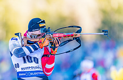 16.01.2020, Chiemgau Arena, Ruhpolding, GER, IBU Weltcup Biathlon, Sprint, Herren, im Bild David Komatz (AUT) // David Komatz of Austria during the men's sprint competition of BMW IBU Biathlon World Cup at the Chiemgau Arena in Ruhpolding, Germany on 2020/01/16. EXPA Pictures © 2020, PhotoCredit: EXPA/ Stefan Adelsberger