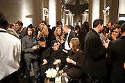 ANNA SCHWARTZ; ANGELA DE LA CRUZ, Turner Prize 2010. Tate Britain. Millbank. London. 6 December 2010. -DO NOT ARCHIVE-© Copyright Photograph by Dafydd Jones. 248 Clapham Rd. London SW9 0PZ. Tel 0207 820 0771. www.dafjones.com.