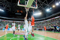 Sammy Meija #9 of Banvit B.K. during basketball match between KK Union Olimpija Ljubljana and Banvit B.K. (TUR) in 4th Round of EuroCup LAST 32 2013/14 on January 22, 2014 in Arena Stozice, Ljubljana, Slovenia. Photo by Urban Urbanc / Sportida