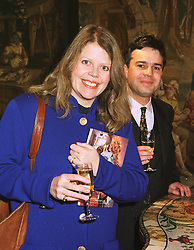 MR JAMES & LADY EMMA BARNARD, she was Lady Emma Guinness, at a reception in London on 22nd March 1999.MPO 4