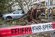 storm Xavier, Berlin, 08.10.17