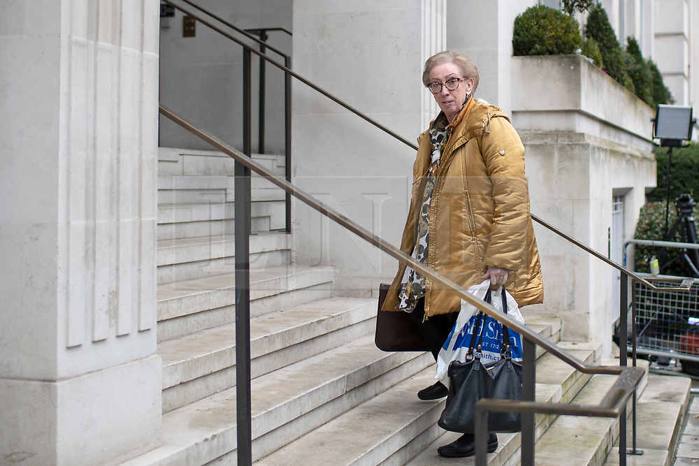 © Licensed to London News Pictures. 16/11/2019. London, UK. Labour MP Margaret Beckett arrives for a Labour NEC meeting at Savoy Place.  Photo credit: George Cracknell Wright/LNP