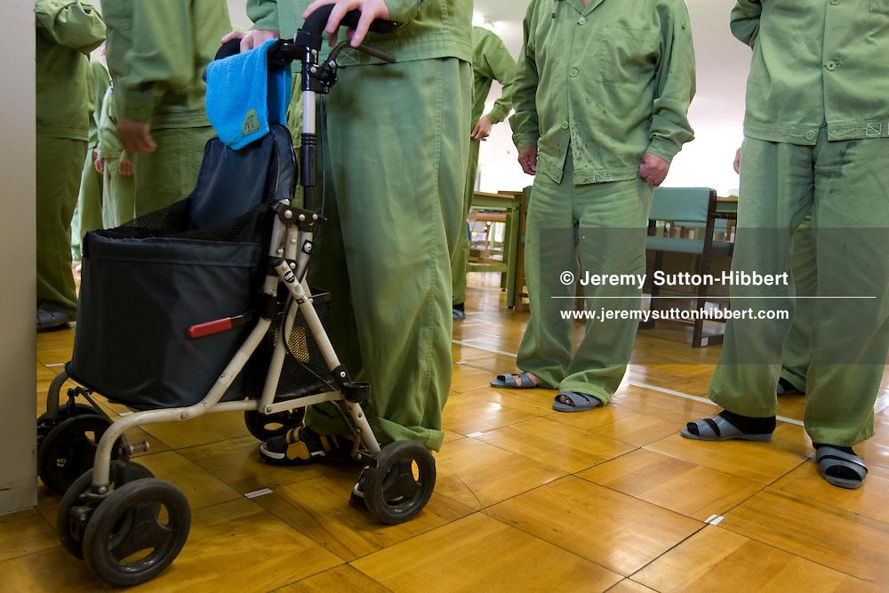 Onomichi prison , Japan. May 19th 2008