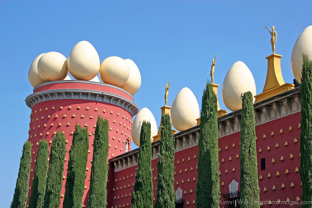 Europe, Spain, Figueres. Dali Theater and Museum exterior.