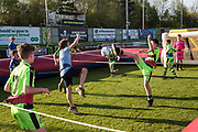 Inflatable football during the EFL Sky Bet League 2 match between Forest Green Rovers and Grimsby Town FC at the New Lawn, Forest Green, United Kingdom on 5 May 2018. Picture by Shane Healey.