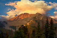 Early morning in the Colorado Rocky Mountains from Kebler pass
