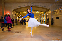 Grand Central Terminal Dance As Art The New York Photography Project featuring ballerina Patricia McTigue