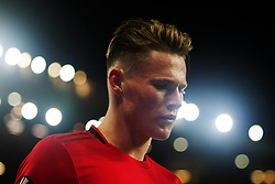 Scott McTominay of Manchester United - Mandatory by-line: Jack Phillips/JMP - 07/11/2019 - FOOTBALL - Old Trafford - Manchester, England - Manchester United v Partizan - UEFA Europa League
