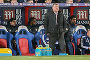 Sunderland Manager Sam Allardyce  during the Barclays Premier League match between Crystal Palace and Sunderland at Selhurst Park, London, England on 23 November 2015. Photo by Simon Davies.
