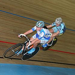 NK Baan scratch 2008 actie Elise van Hage