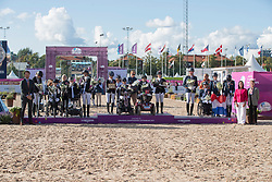 Team Great Britain, Team Denmark, Team Netherlands<br /> FEI European Para Dressage Championships - Goteborg 2017 <br /> &copy; Hippo Foto - Dirk Caremans<br /> 22/08/2017,