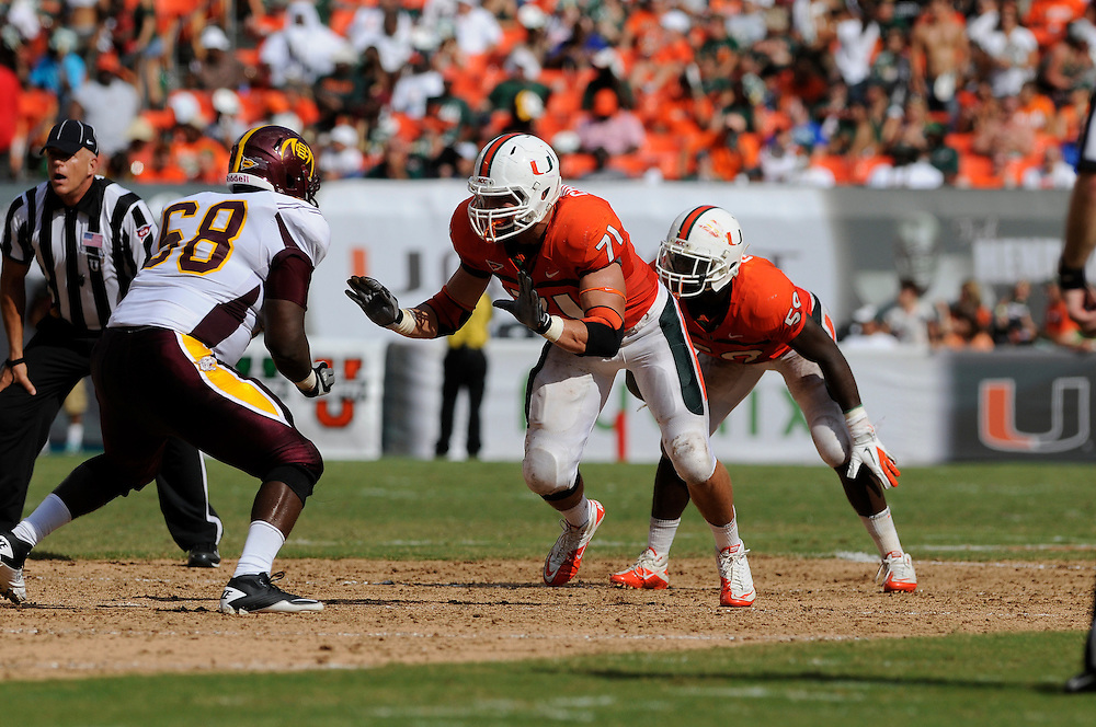 2011 Miami Hurricanes Football vs Bethune-Cookman