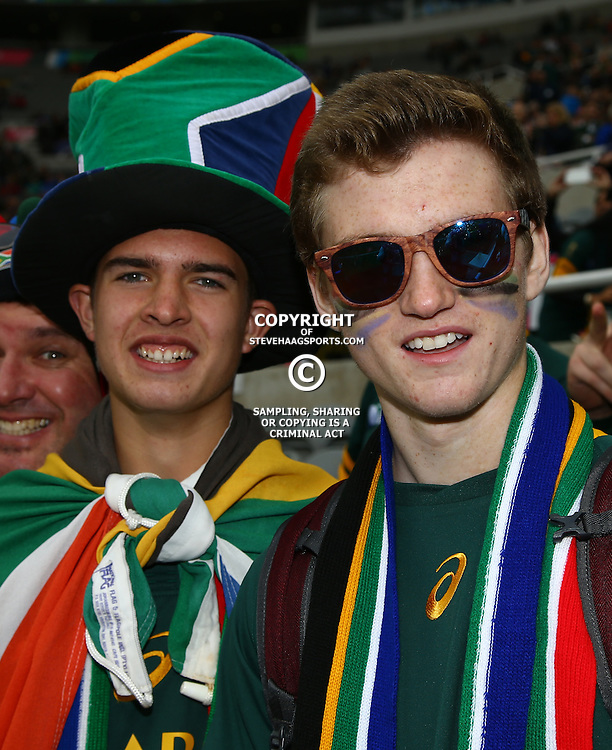 NEWCASTLE UPON TYNE, ENGLAND - OCTOBER 03:  General views during the Rugby World Cup 2015 Pool B match between South Africa and Scotland at St James Park on October 03, 2015 in Newcastle upon Tyne, England. (Photo by Steve Haag/Gallo Images)