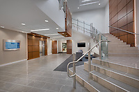 Interior design image of Westview Office Building Lobby in Frederick Maryland by Jeffrey Sauers of Commercial Photographics, Architectural Photo Artistry in Washington DC, Virginia to Florida and PA to New England