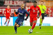 Tottenham Hotspur midfielder Lucas Moura (27) on the ball during the Champions League match between Bayern Munich and Tottenham Hotspur at Allianz Arena, Munich, Germany on 11 December 2019.