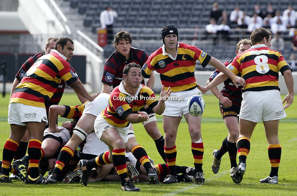 20 September, 2003. Jade Stadium, Christchurch, New Zealand. NPC Division One. Ranfurly Shield match. Canterbury v Waikato.<br />