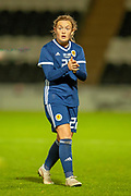 Erin Cuthbert (#22) (Chelsea) of Scotland during the Women's International Friendly match between Scotland Women and USA at the Simple Digital Arena, Paisley, Scotland on 13 November 2018.