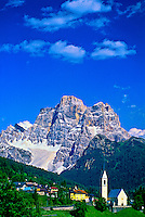 Selva di Cadore (Monte Pelmo in background), Dolomites, Northern Italy