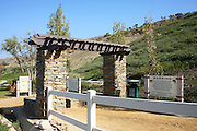 Entrance to San Clemente Ridgeline Trail in Forester Ranch Community
