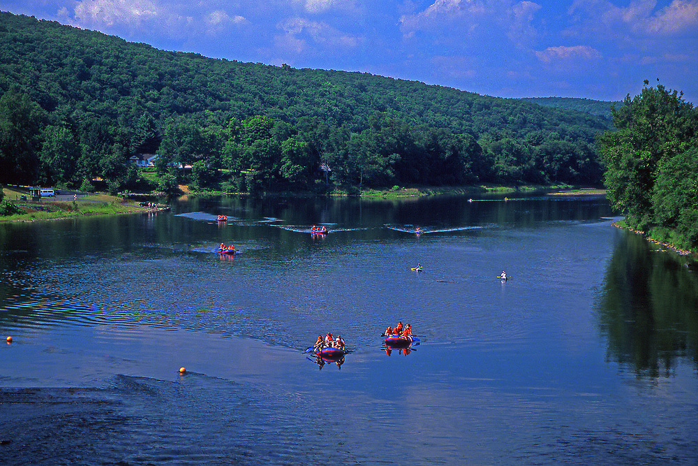 Rafting, Upper Delaware National Scenic and Recreation River, Wayne County, PA