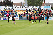 Schools Day at Northampton on Day 3 of the Specsavers County Champ Div 2 match between Northamptonshire County Cricket Club and Leicestershire County Cricket Club at the County Ground, Wantage Road, Abingdon, United Kingdom on 26 June 2019.