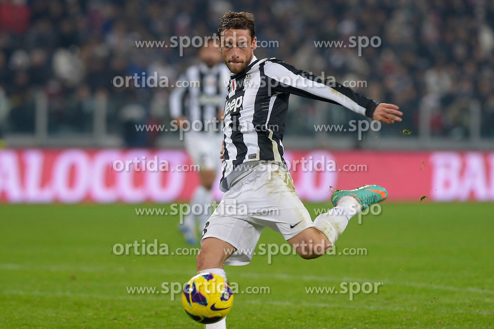 01.12.2012, Juventus Stadion, Turin, ITA, Serie A, Juventus Turin vs FC Turin, 15. Runde, im Bild gol di Claudio Marchisio Juventus.Celebration Goal // during the Italian Serie A 15th round match between Juventus FC and Torino FC 1906 at the Juventus Stadium, Turin, Italy on 2012/12/01. EXPA Pictures © 2012, PhotoCredit: EXPA/ Insidefoto/ Filippo Alfero..***** ATTENTION - for AUT, SLO, CRO, SRB, BIH and SWE only *****