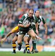 Twickenham, GREAT BRITAIN, Exiles's Mike CATT, during the Guinness Premiership match,  London Irish vs London Wasps, at Twickenham Stadium, Surrey on Sat 06.09.2008. [Photo, Peter Spurrier/Intersport-images]