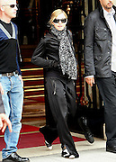 09.JULY.2009. PARIS<br /> <br /> MADONNA LEAVING HER HOTEL IN PARIS TO GO TO REHERSE AT THE BERCY CENTER FOR HER CONCERT WHILE HER KIDS LOURDES, ROCCO, DAVID BANDI, AND NEW ADDITION TO THE FAMILY MERCY JAMES GOT TAKEN OUT BY ALL THE NANIES FOR A SIGHTSEEING TRIP AROUND PARIS WHICH INCLUDED A BOAT TRIP TO SEE THE EIFEL TOWER.<br /> <br /> BYLINE: EDBIMAGEARCHIVE.COM<br /> <br /> *THIS IMAGE IS STRICTLY FOR UK NEWSPAPERS AND MAGAZINES ONLY*<br /> *FOR WORLD WIDE SALES AND WEB USE PLEASE CONTACT EDBIMAGEARCHIVE - 0208 954 5968*