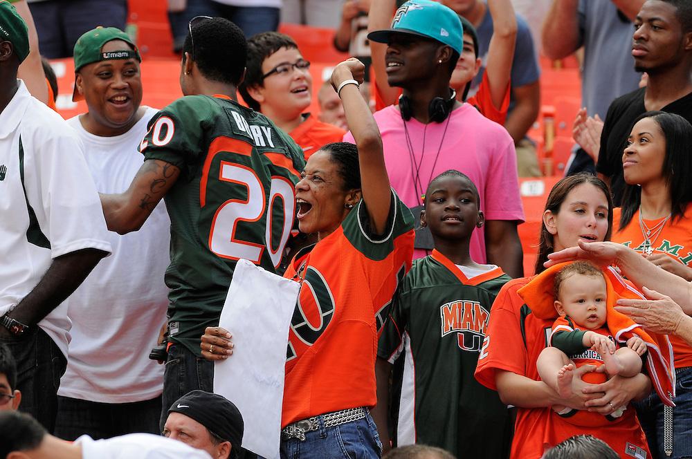 2010 Miami Hurricanes Football vs South Florida