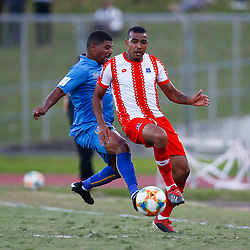 Deolin Mekoa of Maritzburg Utd during the Premier Soccer League (PSL) promotion play-off  match between  Royal Eagles and Maritzburg United F.C. at the Chatsworth Stadium Durban.South Africa,29,05,2019