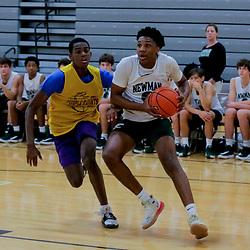 11-07-2019 Newman Basketball Scrimmage
