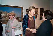 NAZ DIBA; EMPRESS FARAH PAHLAVI OF IRAN, Book launch for ' art and Patronage: The Middle East' at Sotheby's. London. 22 November 2010. -DO NOT ARCHIVE-© Copyright Photograph by Dafydd Jones. 248 Clapham Rd. London SW9 0PZ. Tel 0207 820 0771. www.dafjones.com.