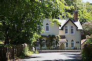 Well-kept period property house in Devon, South West England, UK