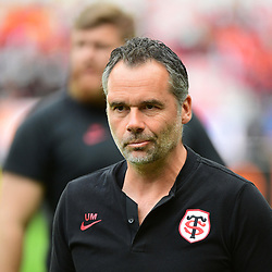 Toulouse coach Ugo Mola before the Top 14 Final between Toulouse and Clermont at Stade de France on June 15, 2019 in Paris, France. (Photo by Dave Winter/Icon Sport)