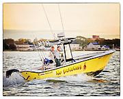 No Bananas Fishing Boat Heading out from Babylon Village
