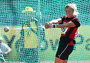 PORT ELIZABETH, SOUTH AFRICA, Friday 13 April 2012, Simone Viviers in the women's hammer throw during the Yellow Pages South African Senior and Combined Events Championships held at the Xerox Nelson Mandela Metropolitan University, Nelson Mandela Bay..Photo by Roger Sedres/Image SA/ASA