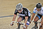 Lauren Ellis in the Avanti BikeNZ Classic, Avantidrome, Cambridge, New Zealand, Thursday, September 18, 2014, Credit: Dianne Manson/BikeNZ