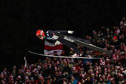 26.01.2020, Wielka Krokiew, Zakopane, POL, FIS Weltcup Skisprung, Zakopane, Herren, Wertungsdurchgang, im Bild Constantin Schmid (GER) // Constantin Schmid (GER) during his competition jump of FIS Ski Jumping world cup at the Wielka Krokiew in Zakopane, Poland on 2020/01/26. EXPA Pictures © 2020, PhotoCredit: EXPA/ Tadeusz Mieczynski