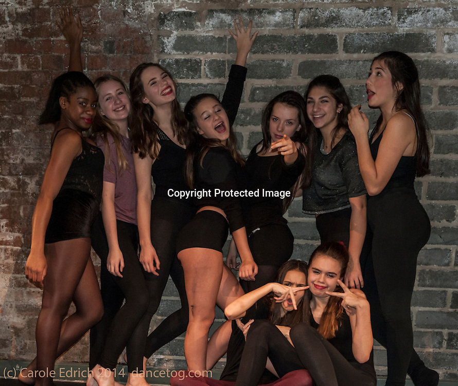 Afterparty at the One Youth Dance show of Uncovered, at Platform Hub, December 20 2014