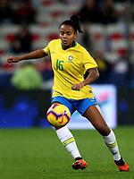 International Women's Friendly Matchs 2018 / <br /> France v Brazil 3-1 ( Allianz Riviera Stadium - Nice,France ) - <br /> Geyse Ferreira of Brazil