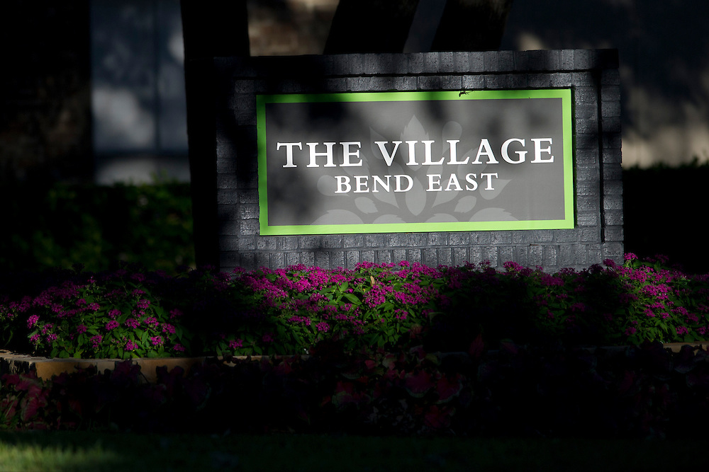 The Village Bend East apartment complex where a third Ebola patient lives in Dallas, Texas on October 15, 2014. (Cooper Neill for The New York Times)