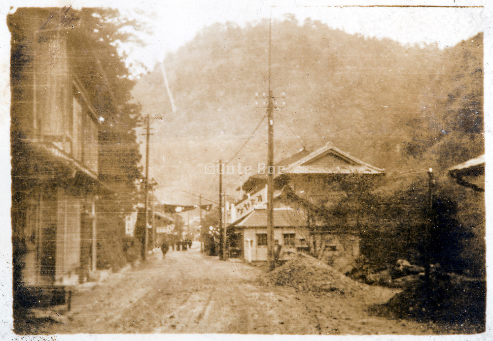 mountain village Japan ca 1930s