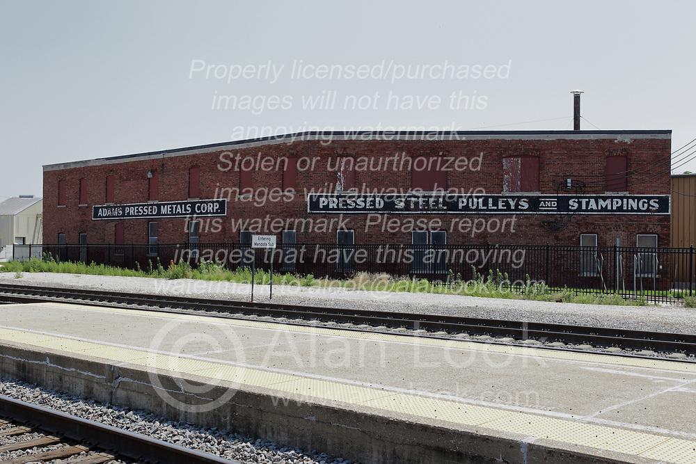 Galesburg Illinois - Adams Pressed Metal Corp building