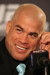 August 4, 2011; Philadelphia, PA; USA; Tito Ortiz at the final press conference for UFC 133 at the Independence Visitors Center.