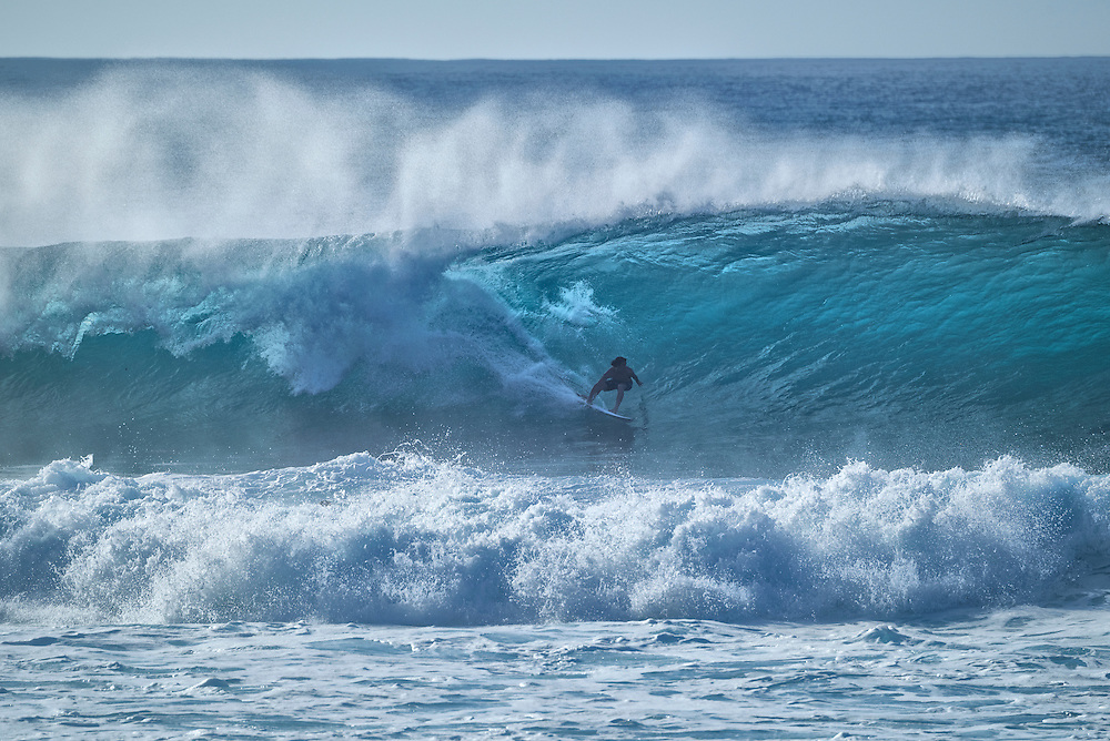 USA, Hawaii, Oahu,North Shore,Haleiwa,Surfing