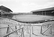 Views of Croke Park from the Dineen stand/Hill 16 on the 20th of July 1974.