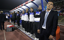 07.09.2010, Maksimir Stadium, Zagreb, CRO, UEFA 2012 Qualifier,  Gruppe F,  Kroatien vs Griechenland, im Bild Slaven Bilic, head coach of the Croatia. ., EXPA Pictures © 2010, PhotoCredit: EXPA/ nordphoto/ Igor Kralj *** ATTENTION *** GERMANY OUT!