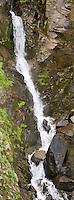 A detail of Myrtle Falls on Edith Creek, Paradise Meadows, Mount Rainier NP, WA, USA